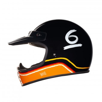 Casque Cross Nexx X.G200 Flat 6 Black