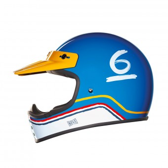 Casque Cross Nexx X.G200 Flat 6 Blue