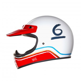Casque Cross Nexx X.G200 Flat 6 White