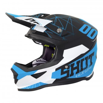 Casque Infantil SHOT Furious Spectre Black Blue Niño