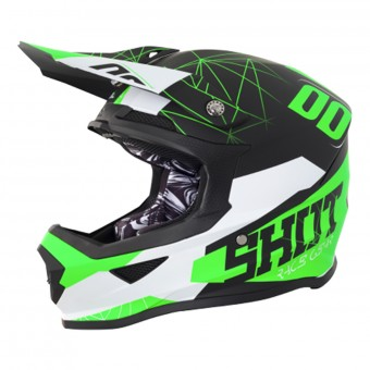 Casque Infantil SHOT Furious Spectre Black Green Niño