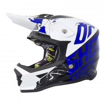 Casque Infantil SHOT Furious Venom Black Blue Niño