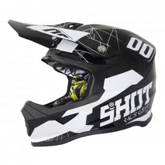 Casque Infantil SHOT Furious Venom Black White Niño