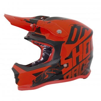 Casque Infantil SHOT Furious Venom Neon Orange Niño