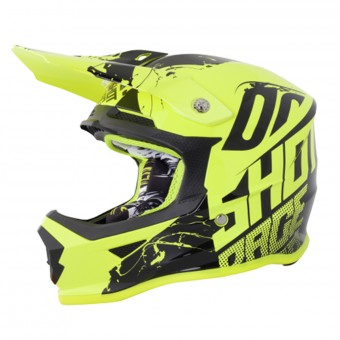 Casque Infantil SHOT Furious Venom Neon Yellow Niño