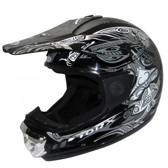 Casque Infantil Torx Peter Gang Maori Black White Niño
