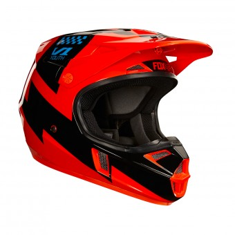 Casque Infantil FOX V1 Master Orange Niño