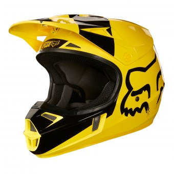 Casque Infantil FOX V1 Master Yellow Niño