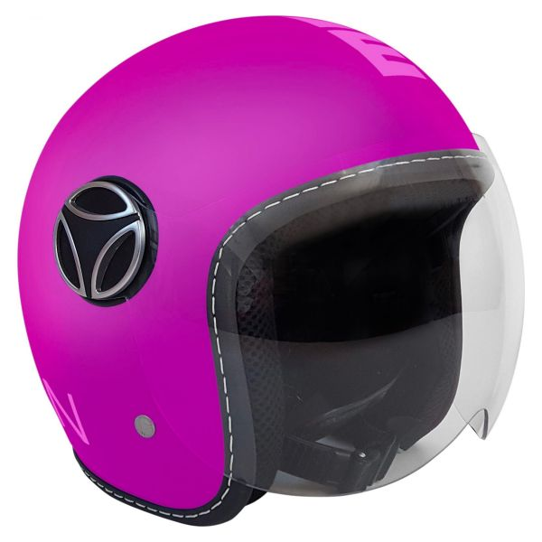 b5600bdf0725b Casco moto Momo Design FGTR Baby Violeta Mate Envío Inmediato ...