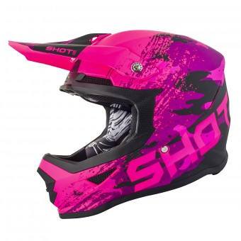 Casque Infantil SHOT Furious Counter Rosa Niño