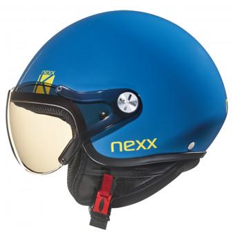 a7bc159a85c8f New Casque Infantil Nexx SX.60 Kids K Azul