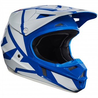 Casque Infantil FOX V1 Race Blue Niño 002
