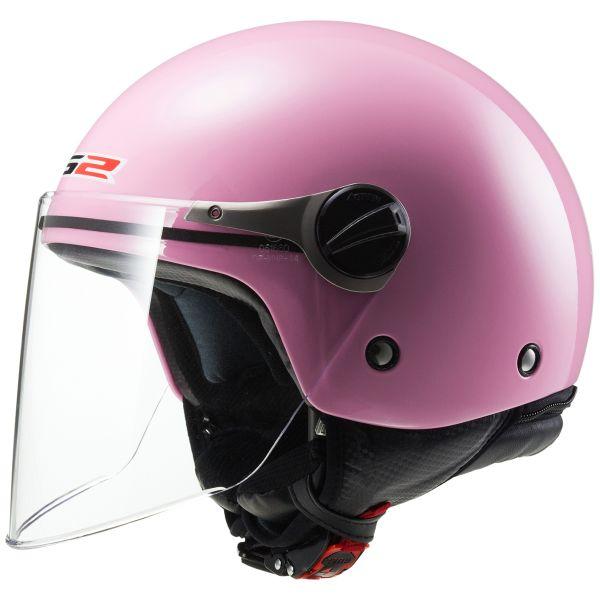 1eab2161bdfdc Casco moto LS2 Wuby Pink OF575J Al Mejor Precio