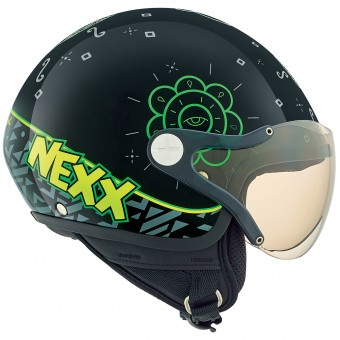 Casque Infantil Nexx X60 Kids Goomy Black Green