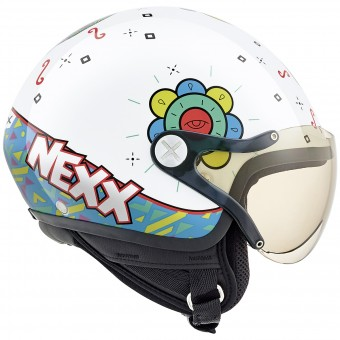Casque Infantil Nexx X60 Kids Goomy White
