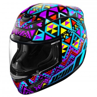 Casque Integral ICON Airmada Georacer Blue