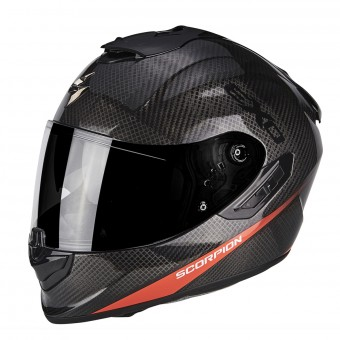 Casque Integral Scorpion Exo 1400 Air Carbon Pure Neon Red