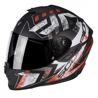 Casque Integral Scorpion Exo 1400 Air Picta Matt Black Neon Red
