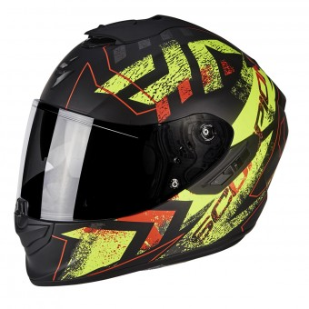 Casque Integral Scorpion Exo 1400 Air Picta Matt Black Neon Yellow