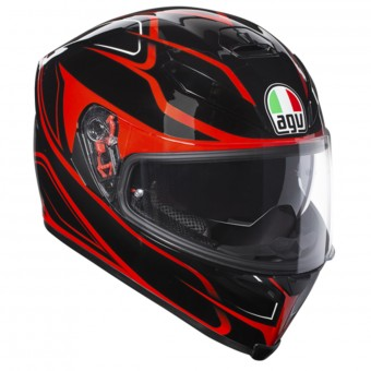 Casque Integral AGV K-5 S Magnitude Black Red