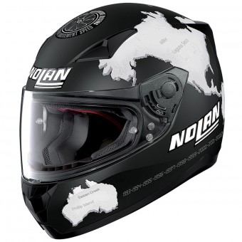 Casque Integral Nolan N60 5 Gemini Replica C. Checa 28