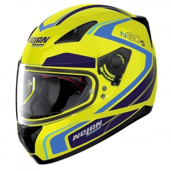 Casque Integral Nolan N60 5 Practice Les Yellow 23