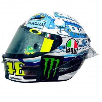 Casque Integral AGV Pista GP R Rossi Winter Test 2017 Limited Edition