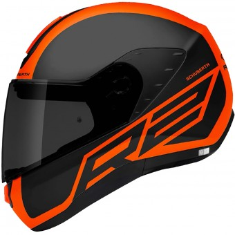 Casque Integral Schuberth R2 Traction Orange