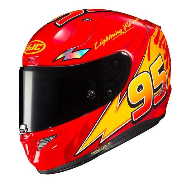 47af8064114 Casco moto HJC RPHA 11 Ligntning McQueen en Stock | iCasque.es