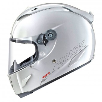 Casque Integral Shark Race-R Pro Blank WHU