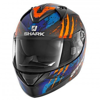 Casque Integral Shark Ridill Threezy Mat KOB