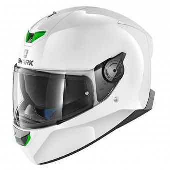 Casque Integral Shark Skwal 2 Blank WHU