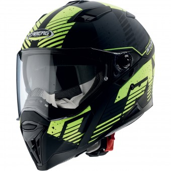 Casque Integral Caberg Stunt Blizzard Matt Black Yellow Fluo