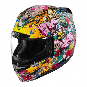 Casque Integral ICON Airmada Rudos Black