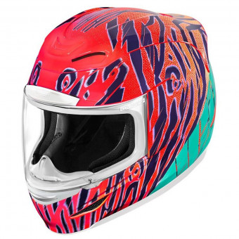 Casque Integral ICON Airmada Wildchild Orange