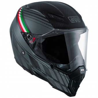 Casque Integral AGV AX-8 Naked Carbon Black Forest