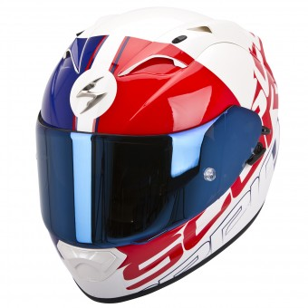Casque Integral Scorpion EXO 1200 Air Quarterback Rojo Azul