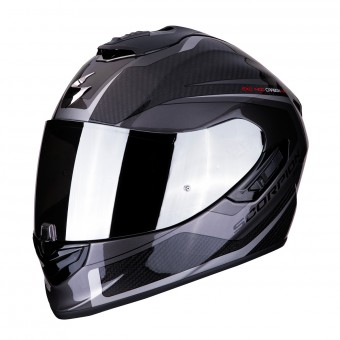 Casque Integral Scorpion Exo 1400 Air Carbon Esprit Negro Plata