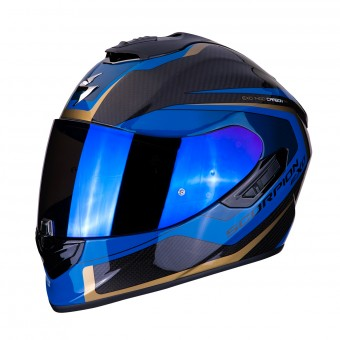 Casque Integral Scorpion Exo 1400 Air Carbon Esprit Negro Azul