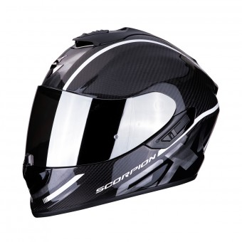 Casque Integral Scorpion Exo 1400 Air Carbon Grand Blanco