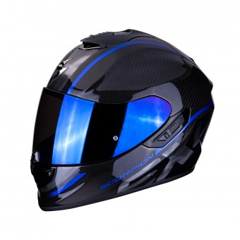 Casque Integral Scorpion Exo 1400 Air Carbon Grand Azul