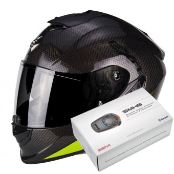 4bc62d4aa8406 ... Casque Integral Scorpion Exo 1400 Air Carbon Pure Neon Yellow