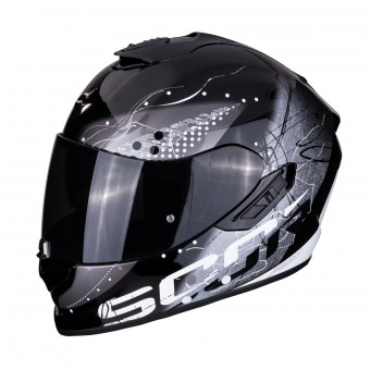 Casque Integral Scorpion Exo 1400 Air Classy Negro Plata