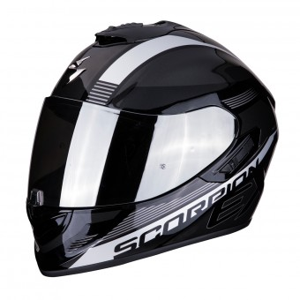 Casque Integral Scorpion Exo 1400 Air Free Negro Plata