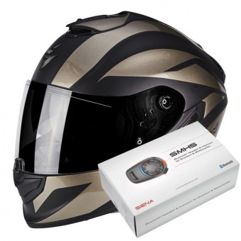 Casque Integral Scorpion Exo 1400 Air Freeway II Matt Black Titanium