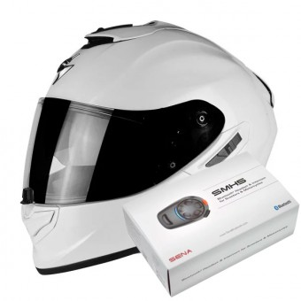 Casque Integral Scorpion Exo 1400 Air Pearl White