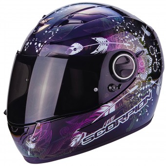 Casque Integral Scorpion Exo 490 Dream Black Chameleon