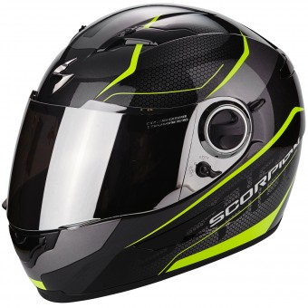 Casque Integral Scorpion Exo 490 Vsion Black Neon Yellow