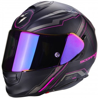 Casque Integral Scorpion Exo 510 Air Sync Matt Black Pink