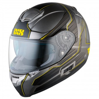 Casque Integral IXS HX 215 Techno Gey Matt